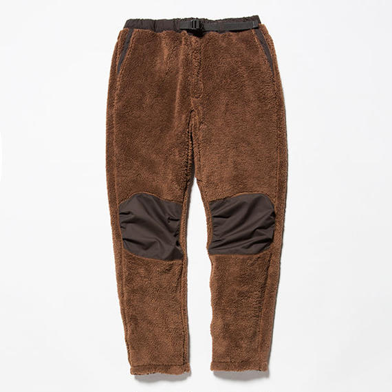 Behavior Fleece Pants/BROWN [MW-PT18205]