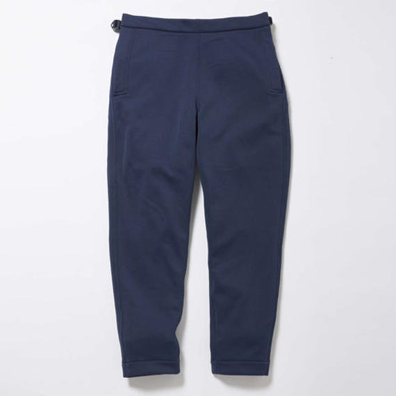 Double Fleece Sailor Pants/DEEP SEA