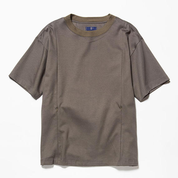 GIZA Cotton Sack Tee/OLIVE