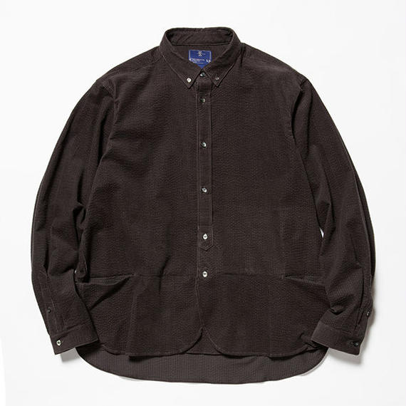 Packable Corduroy SH/CHARCOAL [MW-SH18201]
