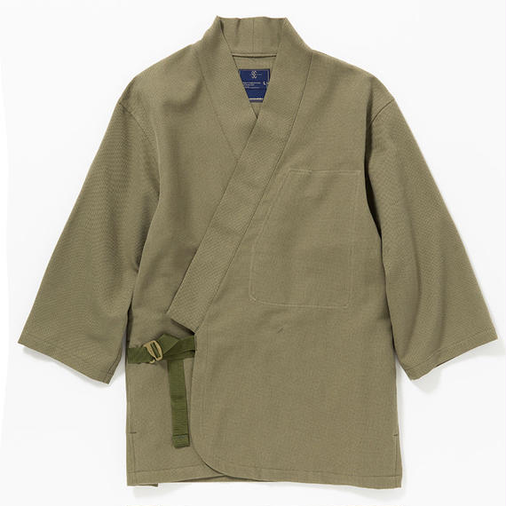 "Cotton Birds Eye Monk's Working Clothes ""SAMUE""/KHAKI"