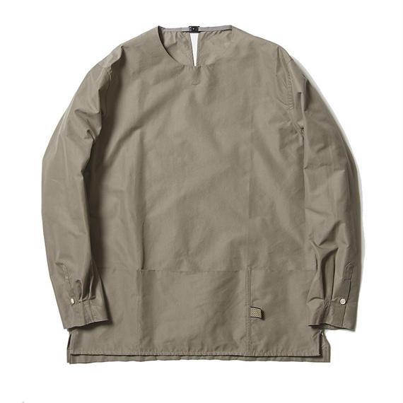 Micro Herringbone Pullover SH/GREY
