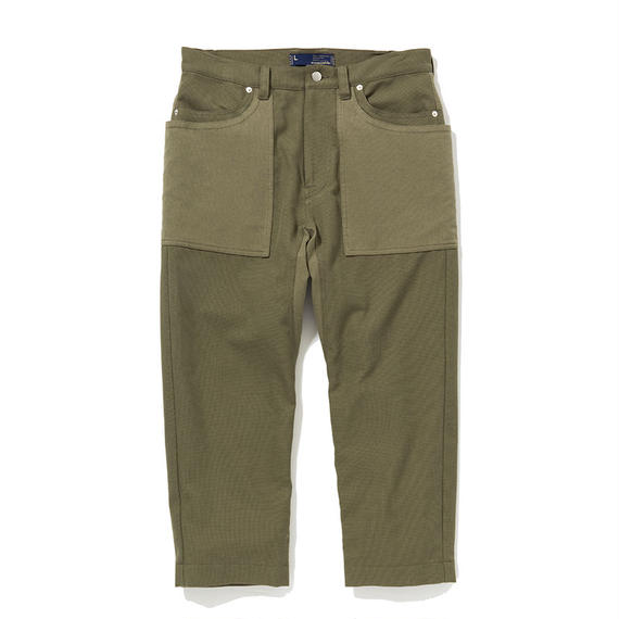 Cotton Birds Eye Gardening 9/10PT/KHAKI