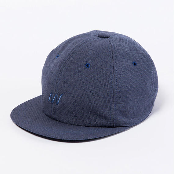 """Sashiko"" B.B Cap/BLUE GREY"