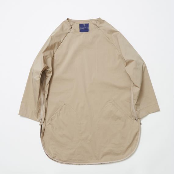 Typewriter Stretch Coolmax Loop Zip SH/BEIGE