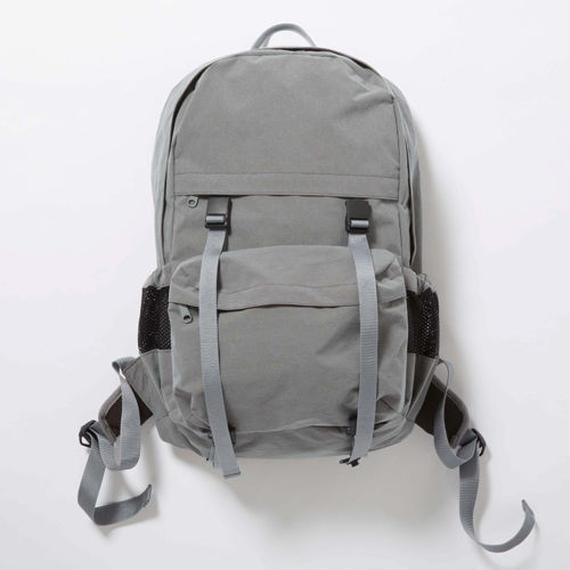 Konbu Nylon Backpack/FOSSIL GREY