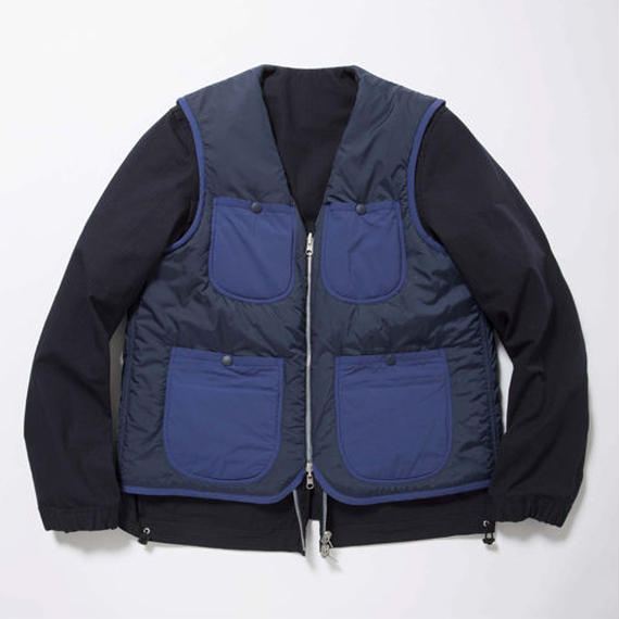 Primaloft Reversible 4Way JKT/DEEP SEA