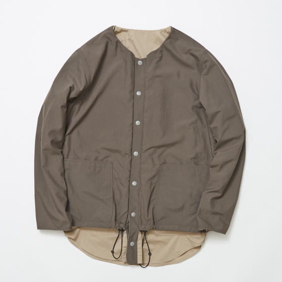 Water-repellent/Coolmax Reversible 4Way Shirts JKT/CHARCOAL×BEIGE