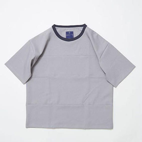 Twill Stretch Packable Pocket Tee/LIGHT GREY