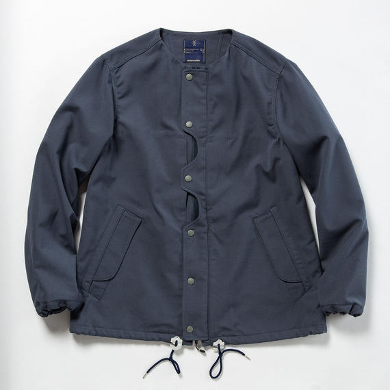 "Odd Job Flap ""Sashiko"" JKT/BLUE GREY"