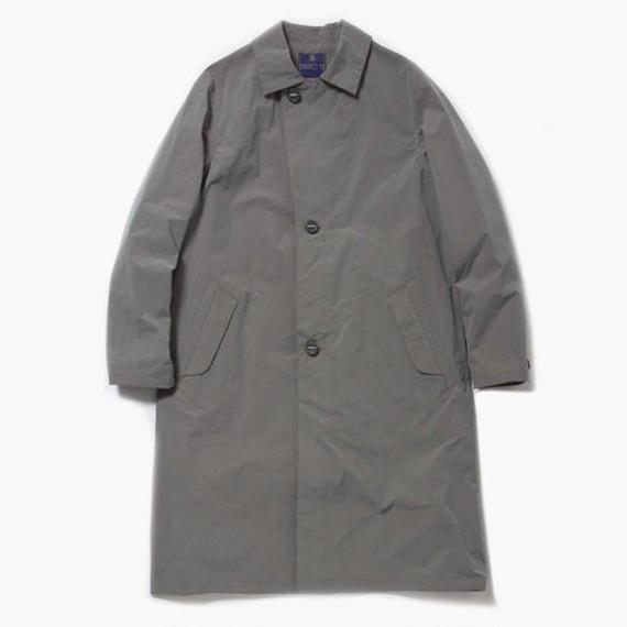 Konbu Nylon Over Coat/ FOSSIL GREY