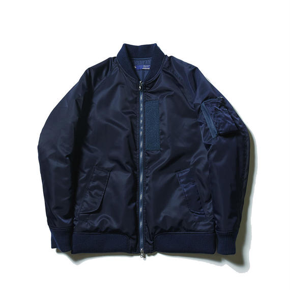 Reversible Twill/Rip MA-1/NAVY