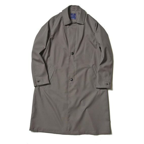 Dress Rip Travel Long Coat/GRAY