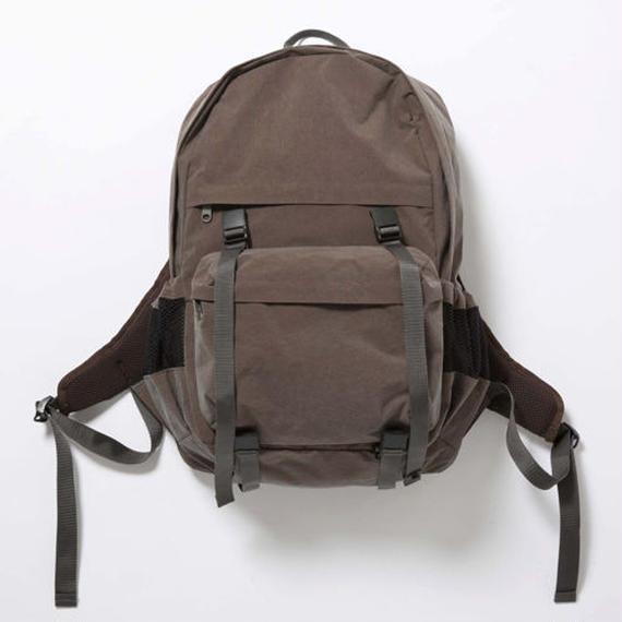 Konbu Nylon Backpack/RUST BROWN