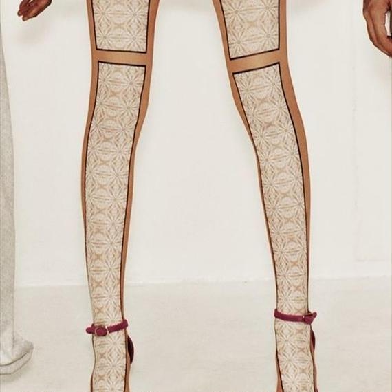 Fake Lace Tights