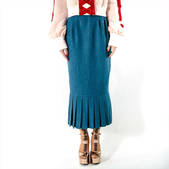 ACTRESS SKIRT(DENIM)