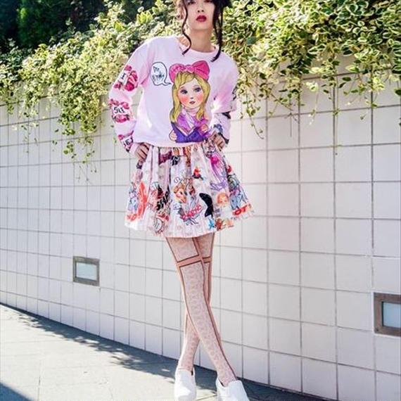 Bisk doll knit pink
