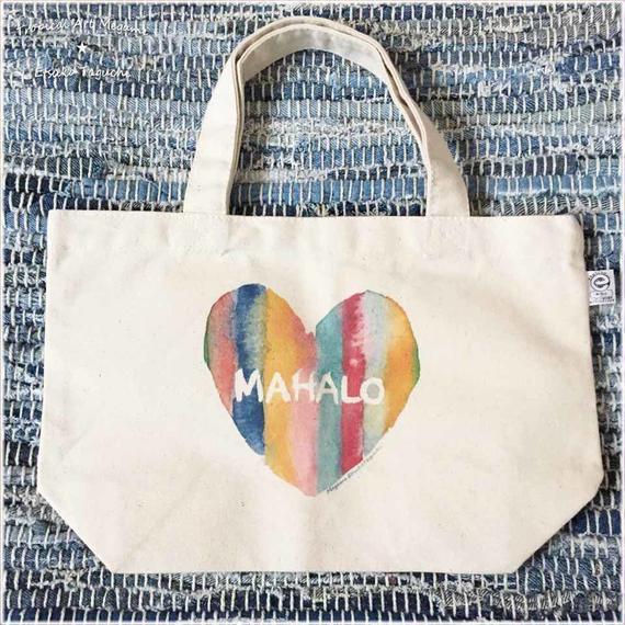 ミニトートバック/MAHALOキイロ