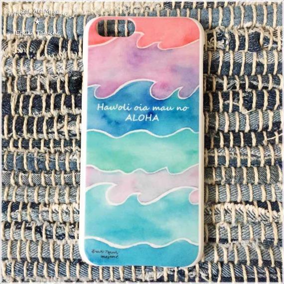 iPhoneケース/波