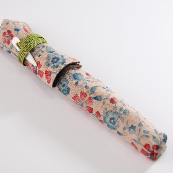 漆塗り筆ペン(花更紗)