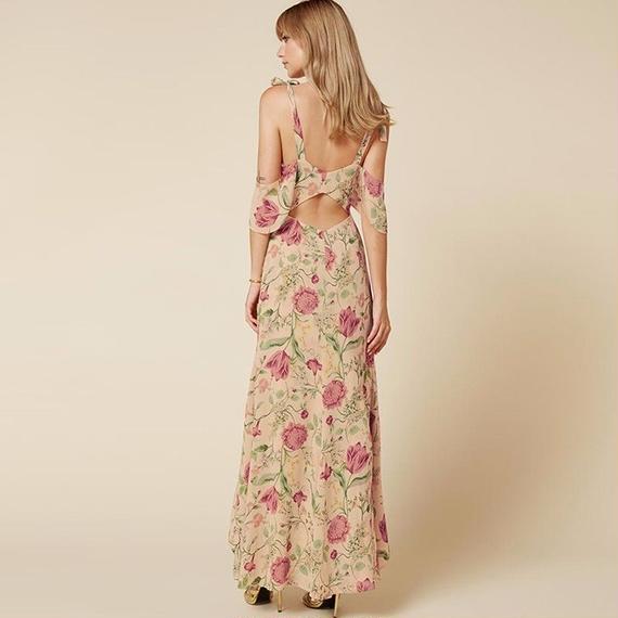 B111 Bohemian Maxi Beach Dress