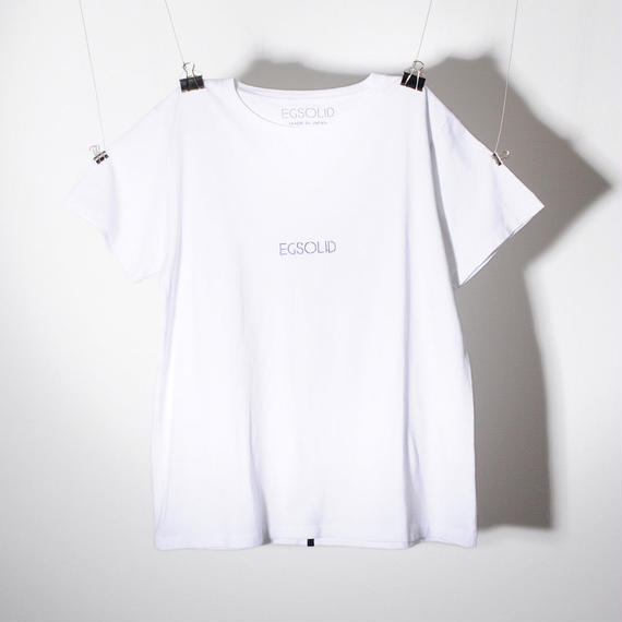 EGSOLID BASIC TEE IN White
