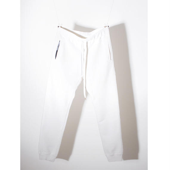 EGSOLID BASIC LOUNGE SWEAT PANTS IN White