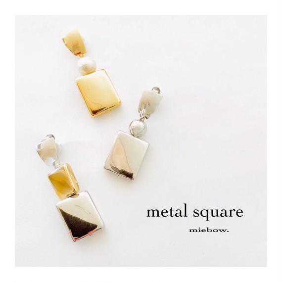 metal  square /   A