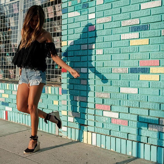 HZXINLIVE アンクルストラップ エスパドリーユ ウェッジサンダル 女性 キャンバス プラットフォーム ウェッジ ファッション レースアップ サンダル 女性 夏 靴 ローヒール サンダル