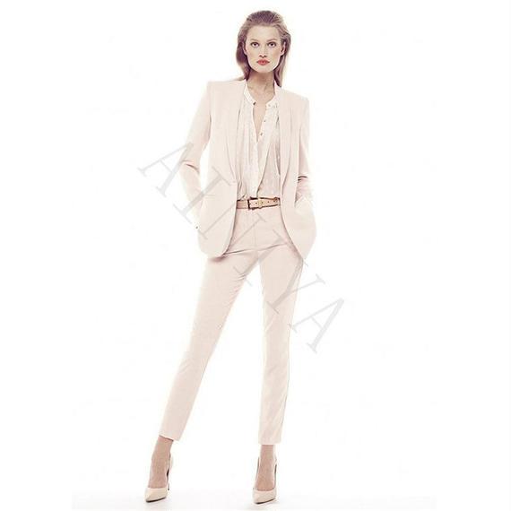 ジャケット パンツ 女性 ビジネス カスタム メイド フォーマル カジュアル オフィス 制服 スタイル レディース エレガント パンツスーツ 女性 ズボン スーツ スーツ パンツ スーツ 結婚式