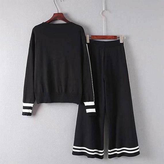 パッチワークスタイル 女性 カジュアル スーツ ジッパー ワイド 脚 パンツ ファッション 3ピース レディースーツセット 3点SET キャミソール ロング カーディガン ワイドパンツ セットアップ