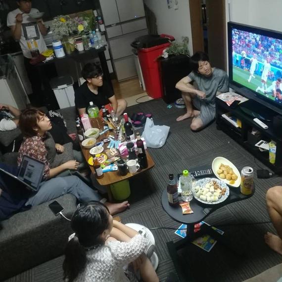 渋谷のシェアハウス(何処に行っても犬に吠えられる)