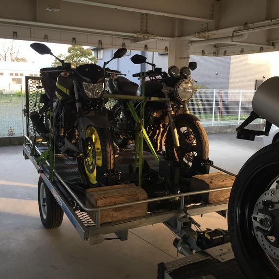 バイク輸送見積り