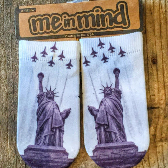 [ME IN MIND] PRINT SOCKS(LIBERTY)