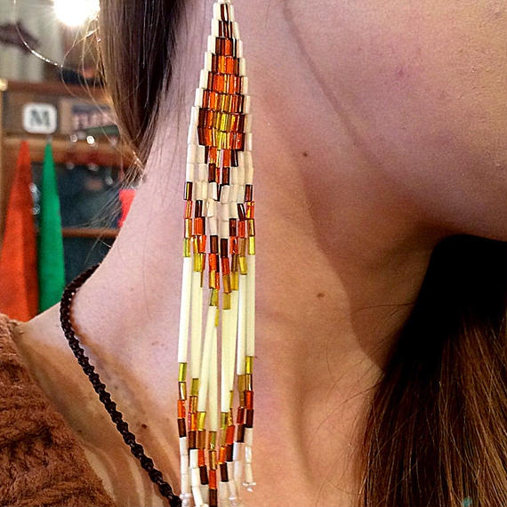 Navajo Beads Pierce[アメリカ買付]