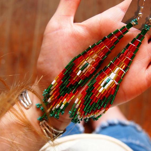 Navajo Beads Pierce[アメリカ買付]
