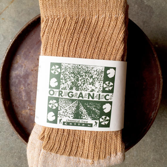 再入荷!「ORGANIC THREADS」3P Socks(Regular type)