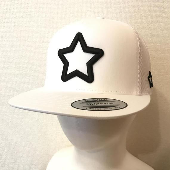 mobstar mesh cap white