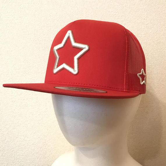 mobstar mesh cap red