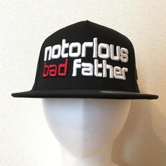 bad father mesh cap black