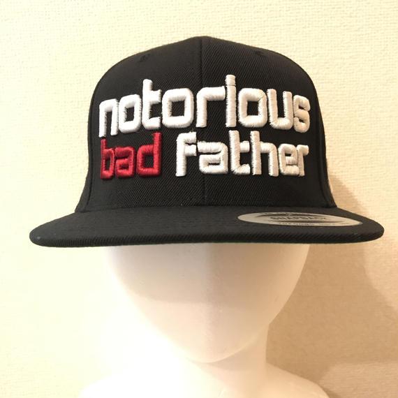 bad father snapback black