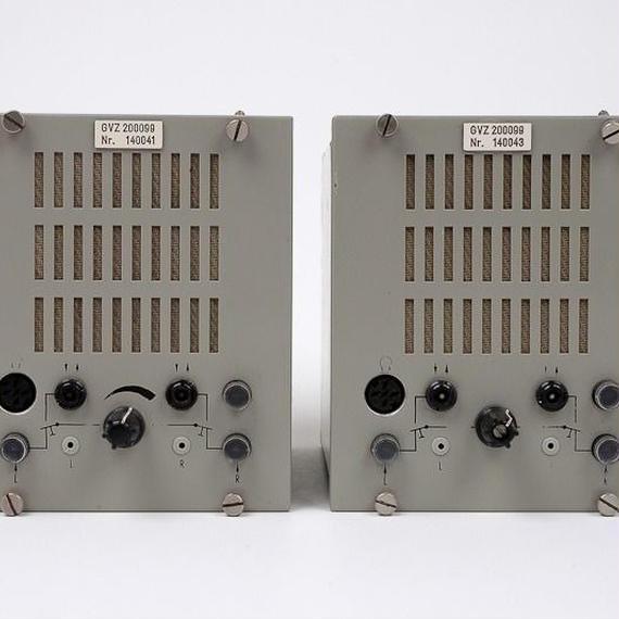 SIEMENS TALKBACK MODUL / mono power amp + speaker system ×2