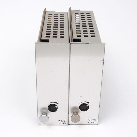 TELEFUNKEN V673 / mono power amp ×2