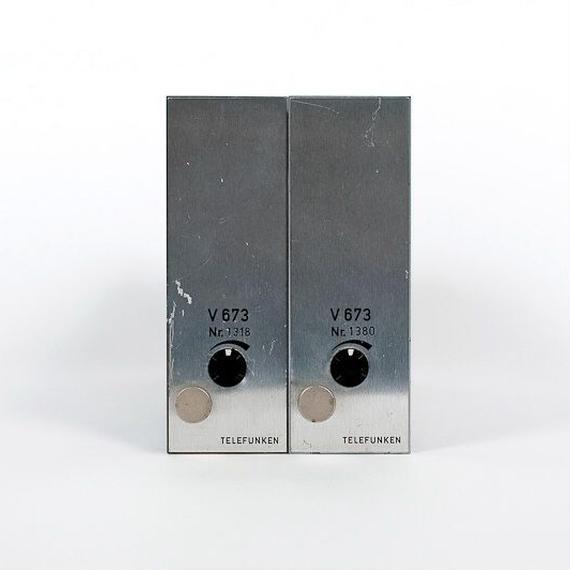 TELEFUNKEN V673 / mono power amp ×2