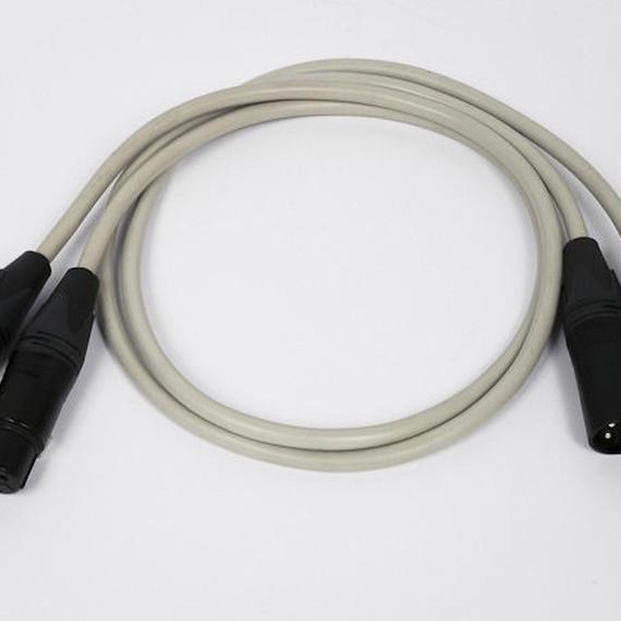 Neumann Gefell (RFT) mic cable1970~80 / XLR-XLR / vintage / 約1.3m