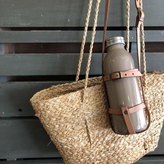 long shoulder basket bag