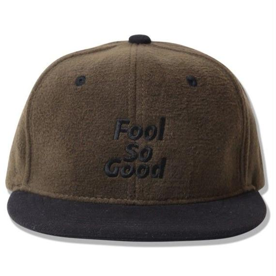 """Fool So Good"" Wool Snap Back Cap"
