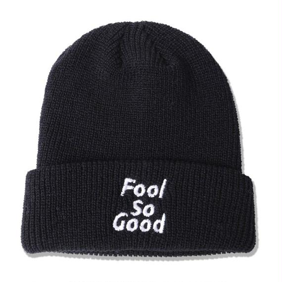 Fool So Good Ribbed Cuffed Knit Beanie