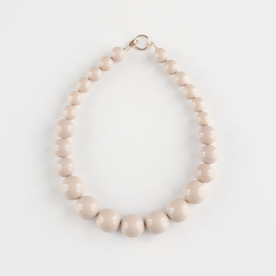CLASSIC/SPHERE Necklace T2 [Beige]