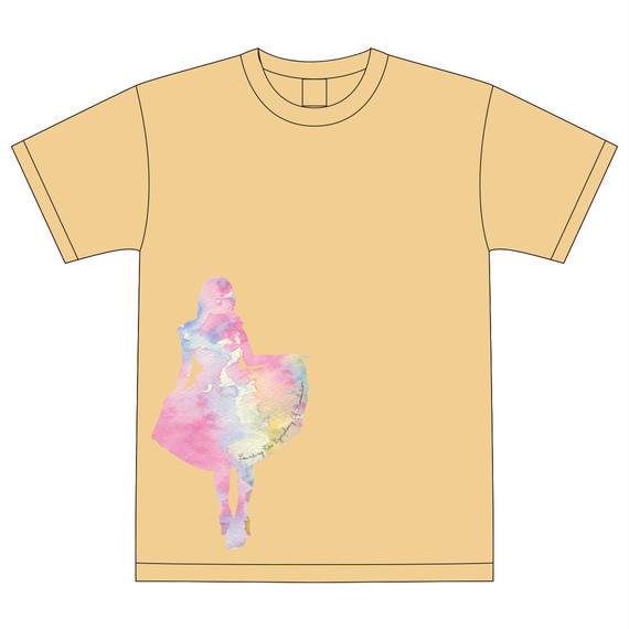 Tシャツ ナチュラル(5周年ワンマンデザイン)